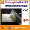 Бесплатная доставка ~ 5 шт. 250um оса пленка для Mitsubishi Mitsu Rohs ОСА Оптический Ясно Клей Для samsung galaxy S4 mini i9190