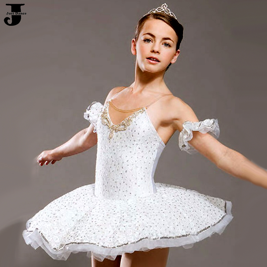2016 New Professional Ballet Tutu Girl/Women Disfraces Infantiles Performance Dance Costumes Lady/Girls Ballerina Dress DQ9002