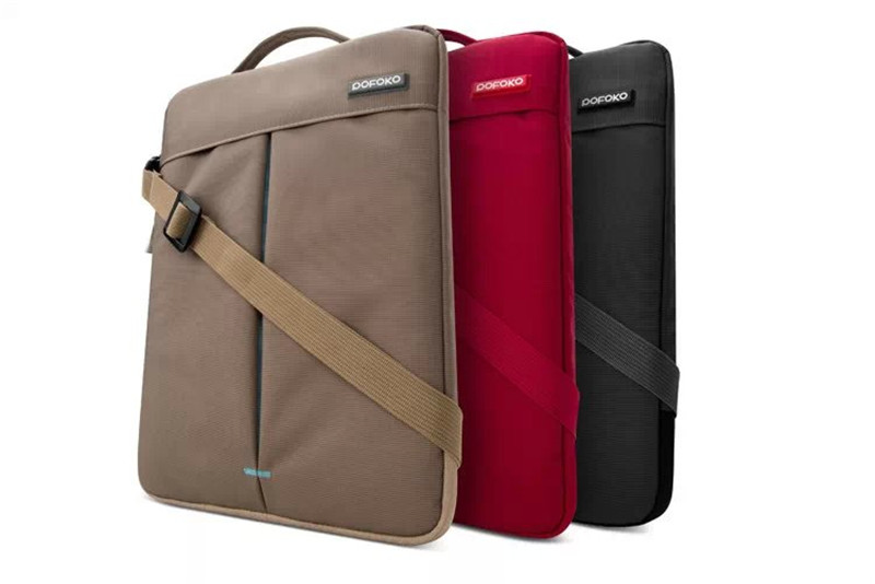все цены на For Apple MacBook AIR Sleeve Carry Bag POFOKO Brand new Shoulder Case Skin Pouch cover Pro with Retina 11.6 12.1 13.3 inch онлайн