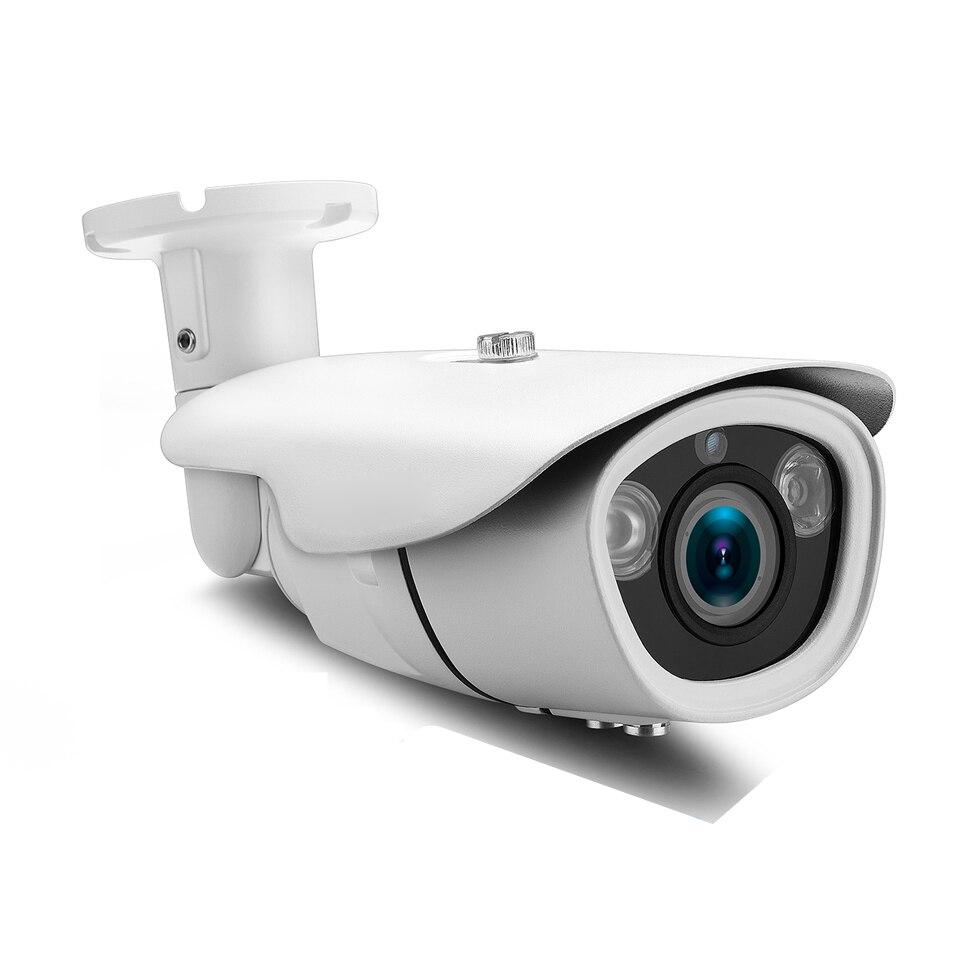SUCAM 2.8-12mm Varifocal ONVIF IP Camera 2.0MP 4.0MP Waterproof Home Security Video Surveillance CCTV Camera 2Pcs Array IR Leds 2