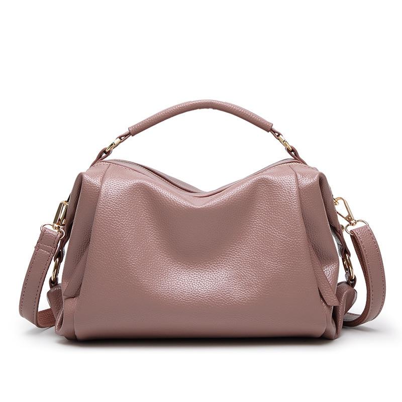 Fashion Women Crossbody Bags solid Vintage Casual Female Handbag Tote circular Fashion Design Leather Shoulder Women Bag Bolosa