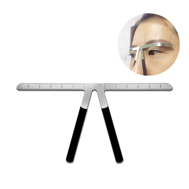 Permanent Makeup Stencil Microblading Eyebrow Tattoo Stencil Ruler Shaper Template Definition Grooming Stencil 2