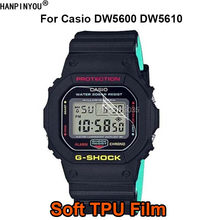 For Casio DW5600 DW5610 DW 5600 5610 Watch Soft TPU Full Cover Film Screen Protector (Not Tempered Glass)(China)
