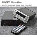 ZHILAI T5 MP3 Lossless Leitor de Música de Alta Fidelidade Febre Decodificador de Áudio CS8406 + PCM1802 APE FLAC DAC Fiber Coaxial Saída RCA Poder adaptador