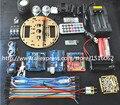 Ntelligent WirIntelligent Tartaruga Carro Suíte Aprendizagem Robô Ieless Controle com Base Para Arduino Robô Kit de Montagem de Automóveis Frete Grátis