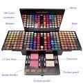 Lo nuevo de Colores Profesional 180 Colores Completos de Asia y América Del Sur Maquillaje Kit de Maquillaje Paleta de Colorete Correctores de Piano Para Navidad regalo