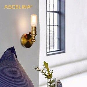 Image 5 - Da Parete A Parete oro Sconce Industriale Lampada Da Parete Applique Da Parete Depoca Loft per E27 Lampadina di Ferro Retro Casa deco di apparecchi di Illuminazione luminaria