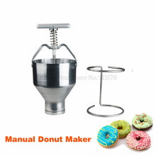 Manual Donuts Producer Small Doughnut Donut Making Machine Household Bakehouse Kitchen Appliance все цены