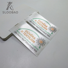 High quality manufacturers custom-made all kinds of high-grade clothing lingbiao woven label marks