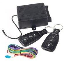 Universal Car Central Door Locking Keyless Entry System + 2 Remote Control