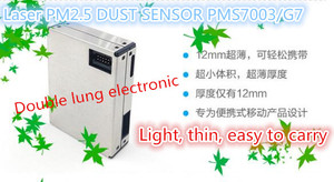 Image 3 - PLANTOWER Laser PM2.5 DUST SENSOR PMS7003 / G7 High precision laser dust concentration sensor digital dust particles
