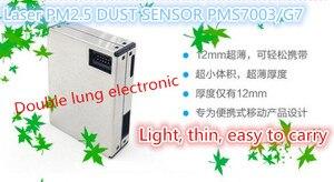 Image 3 - Partículas de poeira digitais do sensor da concentração da poeira do laser da elevada precisão pms7003/g7 do sensor da poeira do laser pm2.5 de plantower