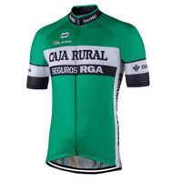 6dbeec72 Retro Classic Men Cycling Jersey Green Short Sleeve Racing Bicycle Clothes  Breathable Mountain Maillot Ciclismo Can