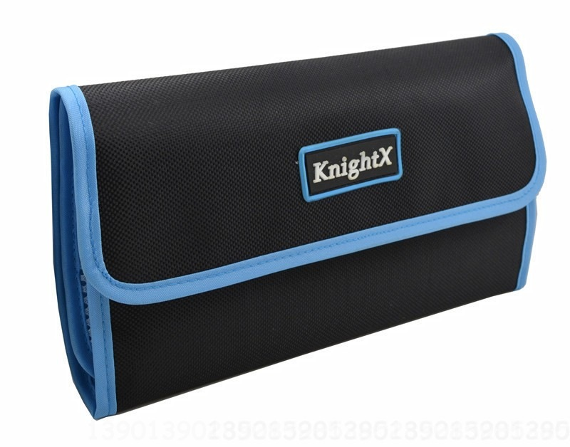 KnightX Camera Lens Filter Case Fundas Bag Box Holder Pouch 49 52 55 58 67 72 77 MM For Canon NIKON SONY UV CPL ND Star 1200d
