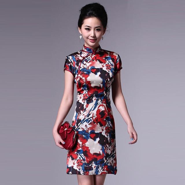 Colorink classical cheongsam summer fashion summer 2013 vintage cheongsam dress vintage g61559