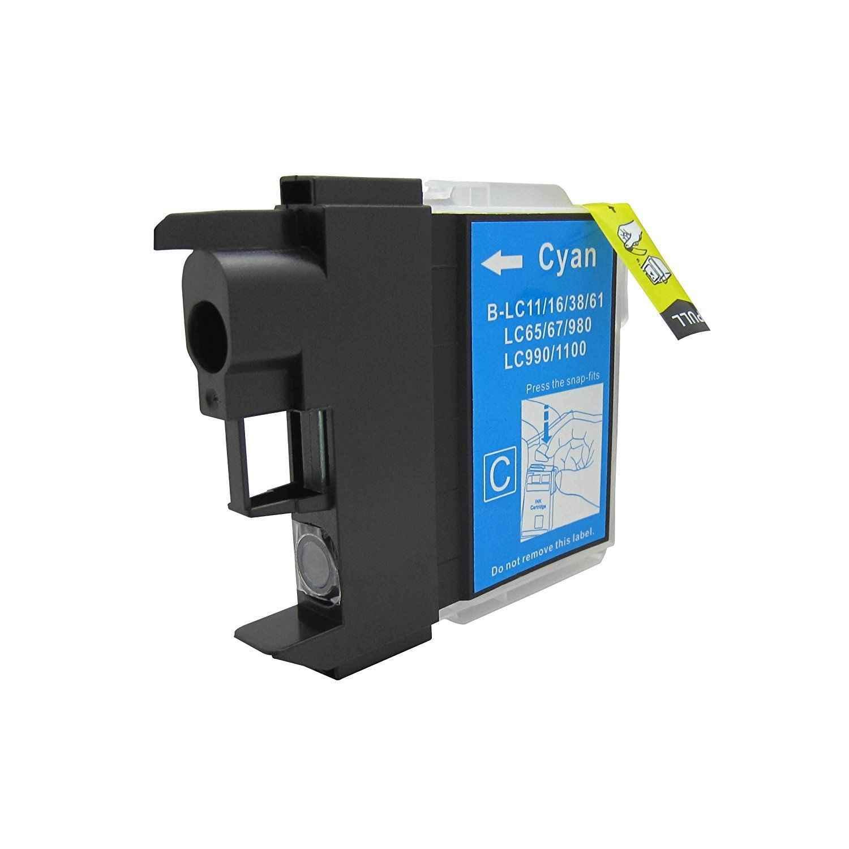 10x LC980 LC1100 mürekkep kartuşları için uyumlu DCP-385C DCP-395CN DCP-585CW DCP-6690CW