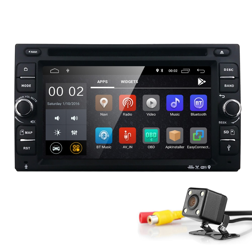 2 din car radio gps Android 8.1 Car DVD player Multimedia audio for nissan xtrail Qashqai juke Head unit gps navigation 2G+16G