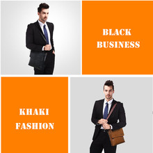 Brand New Fashion Man Leather Business Bags For Men