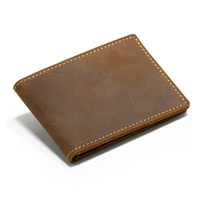 Vintage Cow Leather Card And Drivers License Wallet Handmade Driver S License Cover Case Driving License