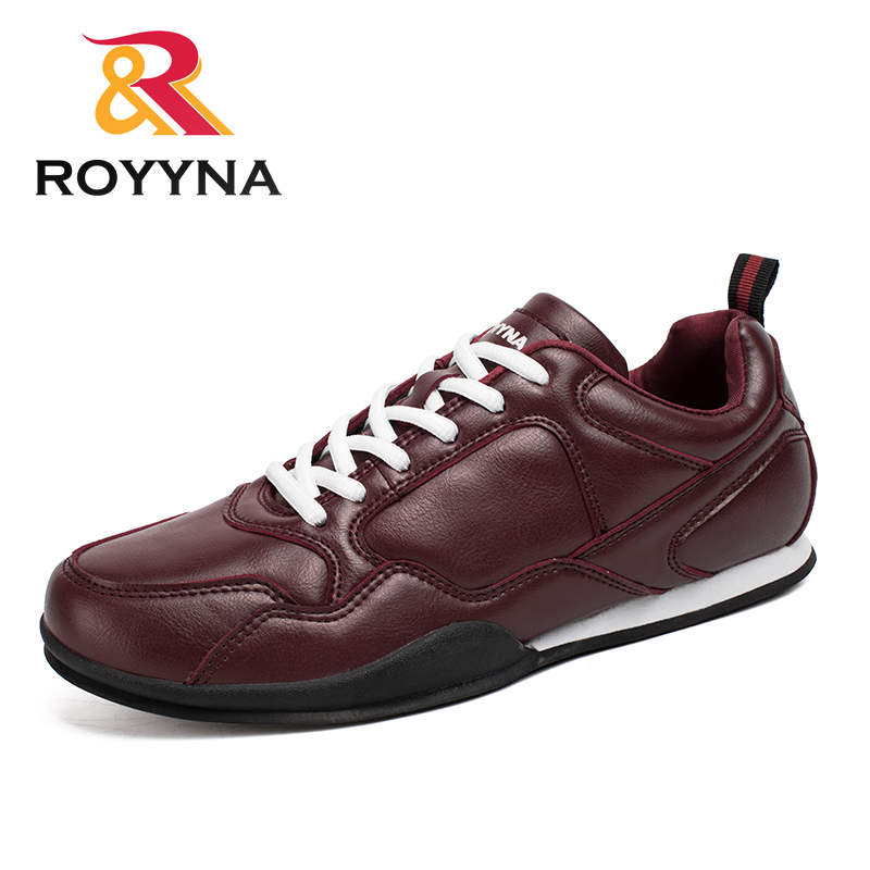 ROYYNA New Fashion Style Men Casual Shoes Comfortable Lace Up Microfiber Men Shoes Breathable Light Soft Men Flats Free Shipping bimuduiyu new england style men s carrefour flat casual shoes minimalist breathable soft leisure men lazy drivng walking loafer