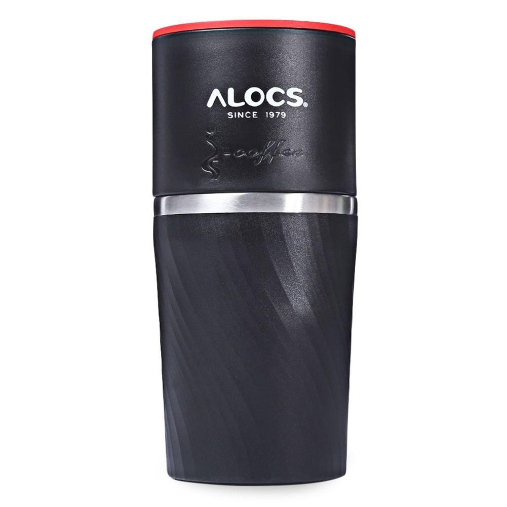 LGFM-Alocs CW-K16 4 In 1 Camping Travel Coffee Cup Grinding Machine Brewed Coffee Bean Grinder Mug