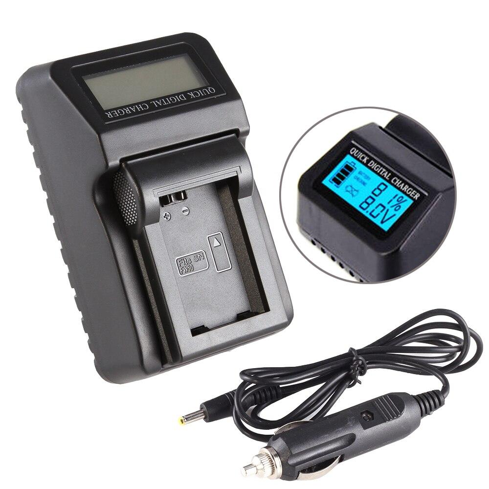 LCD cargador de batería para Sony NP-FW50 A5000 A6000 RX10 A7 A7R NEX-5T/5R/6/7