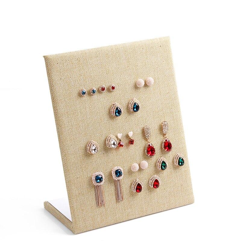 Aliexpresscom Buy Anfei Linen Earring Display shelf board pin