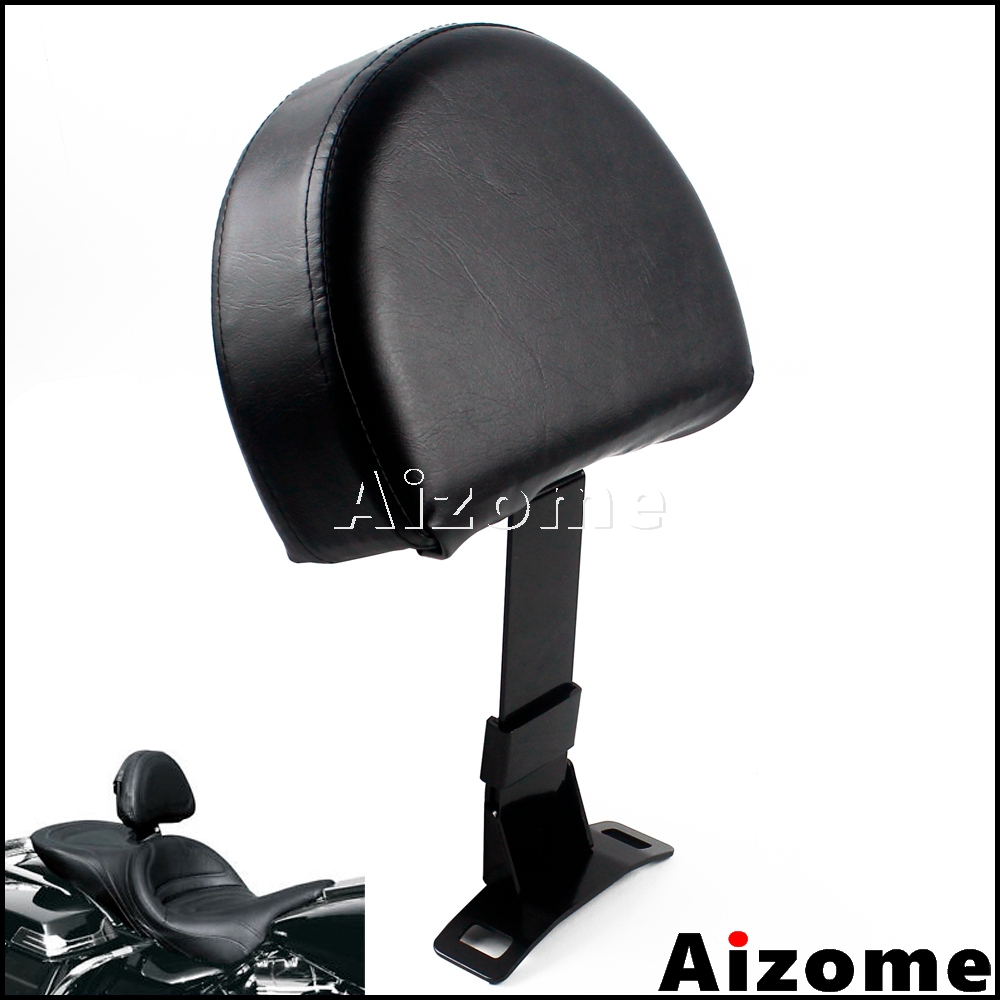 Motorcycle EZ ON OFF Driver Backrest Pad For Harley Touring Electra Glide Ultra Classic Tri Glide