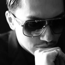 FEISHINI Celebrity High Quality Sunglasses Men Brand Design Retro Frame Gradient Lens Fashion Metal Sunglass Ladies Shield