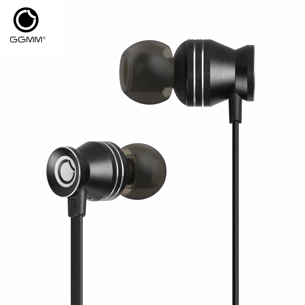 GGMM C300 Earphone for Phone Wired Earphones Stereo Earphone Earbuds Metal Bass Headset auriculares audifonos For iPhone Samsung