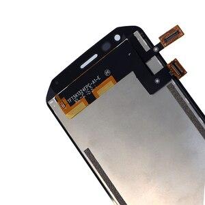 Image 3 - Pour laffichage à cristaux liquides de Caterpillar CAT S40 avec lassemblage décran de remplacement de composant de numériseur décran tactile