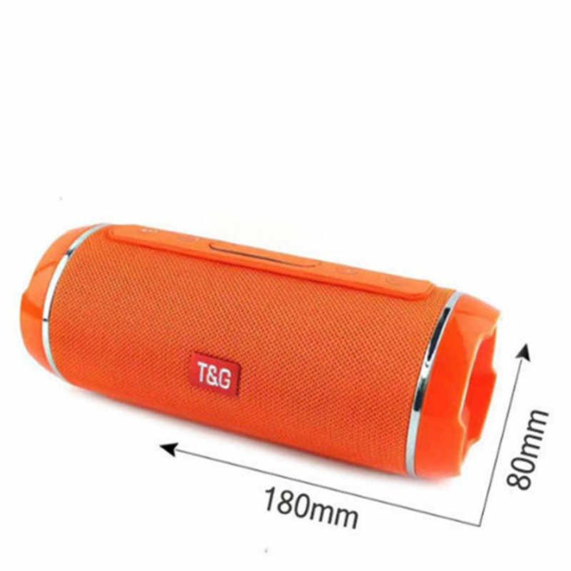 Беспроводной Bluetooth динамик наружные колонки Спортивная мощность звук стерео приемник HIFI портативный музыкальный водонепроницаемый динамик с FM