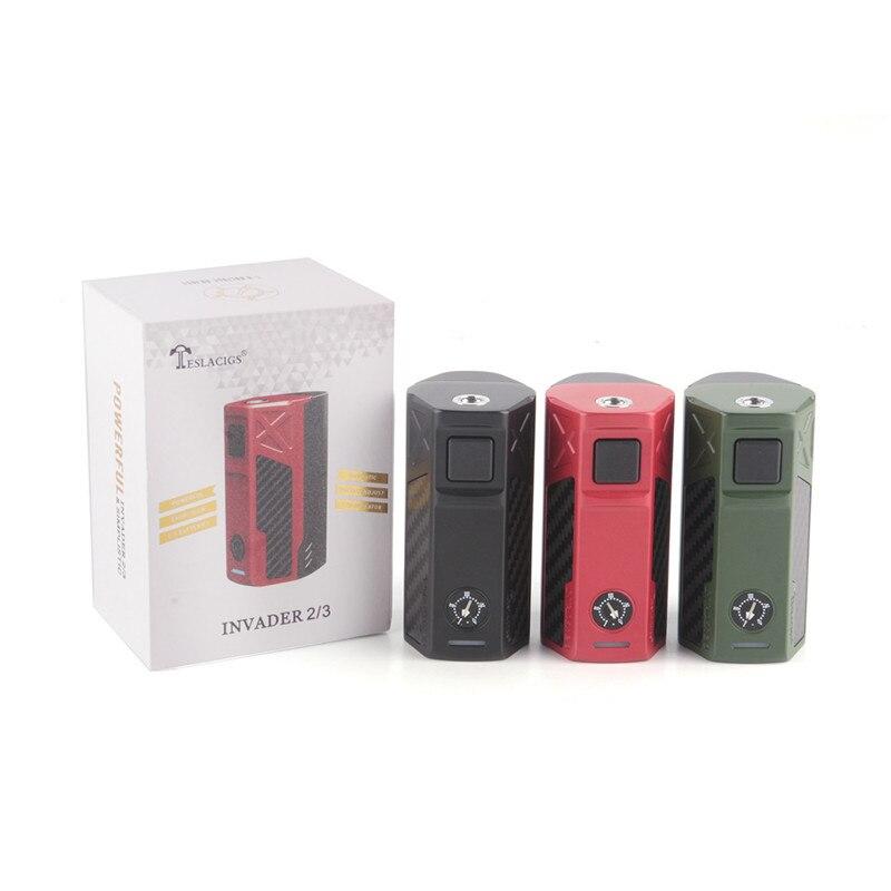 Оригинал Тесла Invader 2/3 240 Вт/360 Вт коробка Mod Kit электронные сигареты светодио дный для 510 нить суб Ом Танк против RX200 электронных сигарет Vape