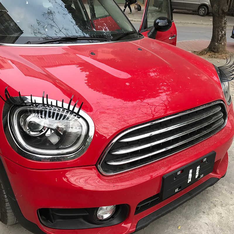 Detail Feedback Questions About 2pcs 3d Charming Fake Eyelashes Car