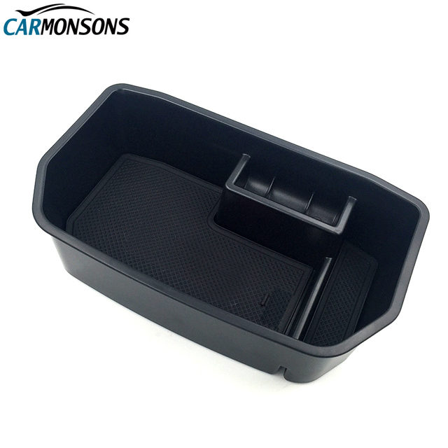 Carmonsons Central Armrest Storage Box Container Holder Tray Accessories for Lexus LX570 LX 570 2007+ Car Organizer Car Styling