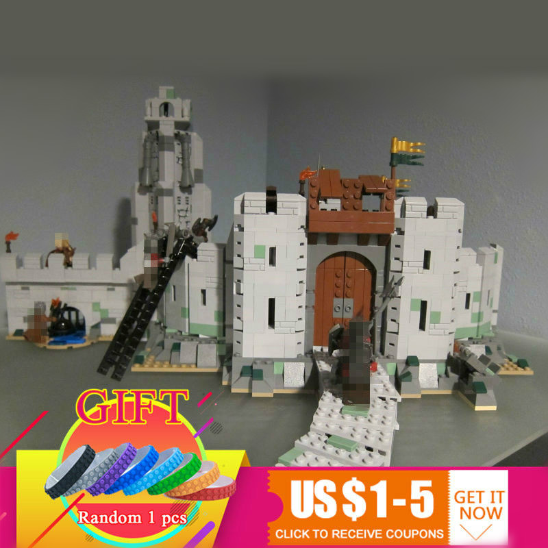16013 1368Pcs The Lord of the Rings Series The Battle Of Helm' Deep Compatible with 9474 Model Building Blocks Bricks toys commutativity of rings with derivations