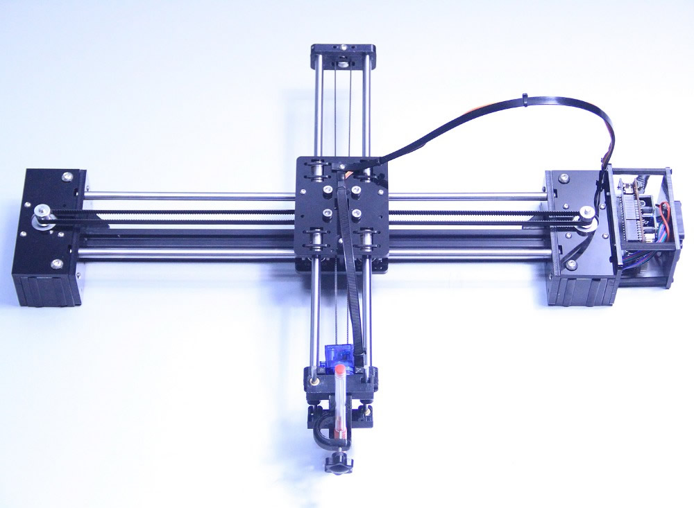 2017 DIY drawbot pen drawing machine lettering robot corexy XY-plotter drawing robot kit CNC V3 shield writing robot