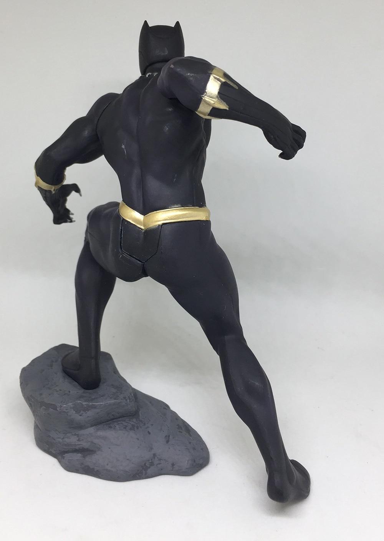18cm Marvel Toys ARTFX Avengers Infinity War Black Panther PVC Action Figure Model Toy Christmas Gift (7)