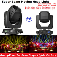 High Quality Moving Head Beam Lights Sharpy 20R 440W Super Beam Moving Head Spot Lights Professional DJ Disco DMX Stage Light