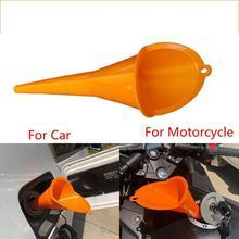 Yfashion Motorcycle Forward Control Bike Transmission Crankcase Oil Filling Fill Funnel