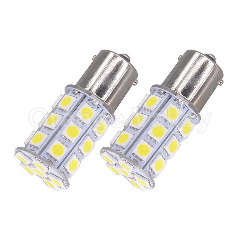 2шт супер яркий s25 обратные 1156 7506 P21W BA15s из 27 светодиодов 5050 СМД стайлинга автомобилей Противотуманные лампы сигнала поворота резервного копирования свет 12 В постоянного тока