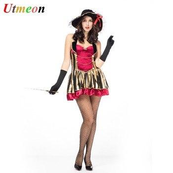 6ec24cbcf8c UTMEON Sexy nuevo disfraz de pirata para mujer Halloween vestido de fiesta  de lujo carnaval alta calidad adultos pirata Cosplay disfraces