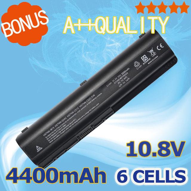 6 celdas 4400 mah batería del ordenador portátil para hp cq40 dv6 cq60-100 dv4-2000 462890-541 485041-001 ev06055 hstnn-q34c hstnn-c51c hstnn-ub72
