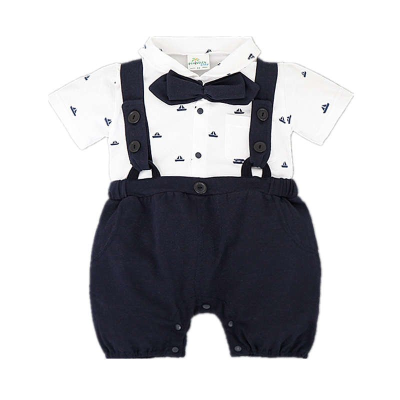 Summer baby clothes bebes fashion newborn rompers cotton baby costume hot sale baby boy clothes