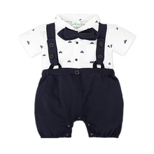 Summer baby clothes bebes fashion newborn rompers cotton