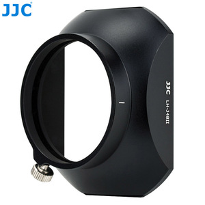 Image 4 - Jjc LH J48II 카메라 올림푸스 m. zuiko 디지털 ed 12mm f/2.0 렌즈 용 후드 캡이있는 블랙 렌즈 후드 olympus LH 48 대체
