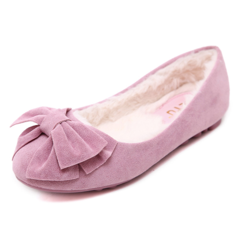 Big Size 35 40 font b Women b font Flats Brand PU Leather Ballet Shoes font