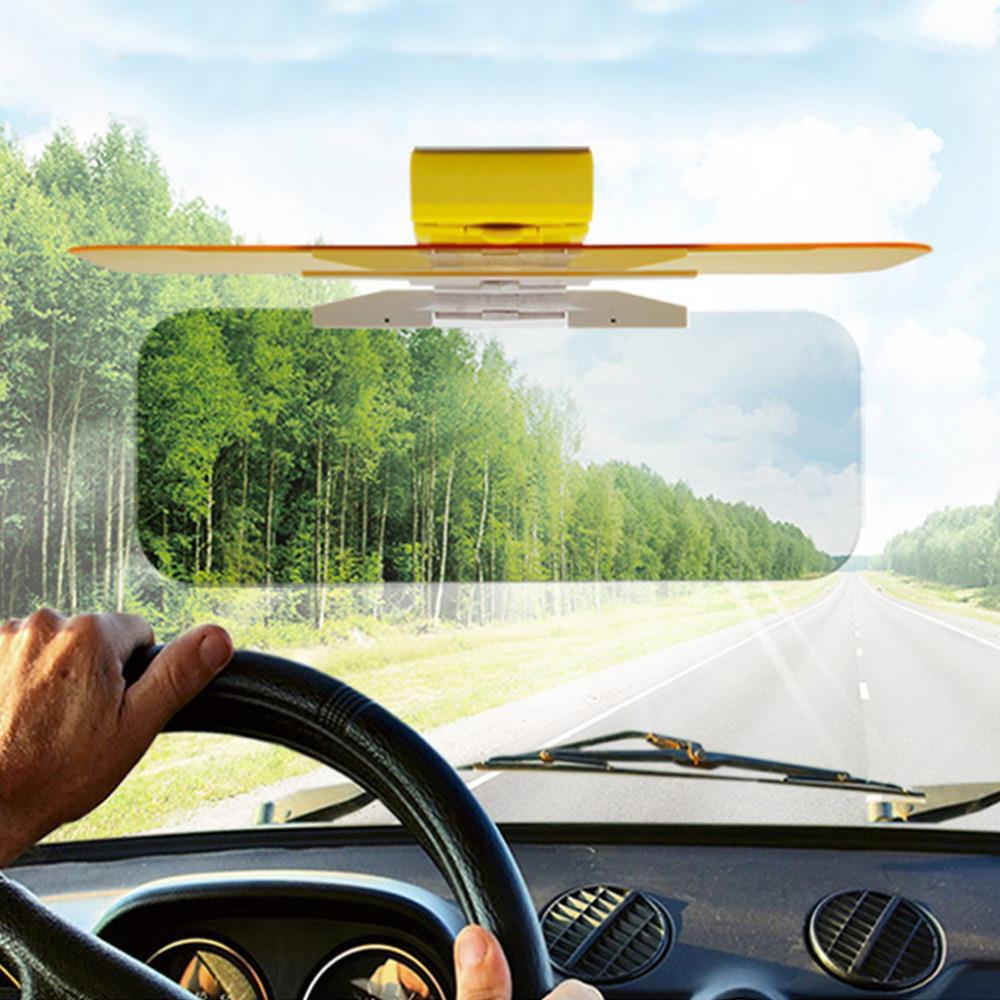 New HD Car Sun Visor Goggles For Driver Day Night Anti Dazzle Mirror Sun Visors Clear View Dazzling Goggles Interior Accessorie