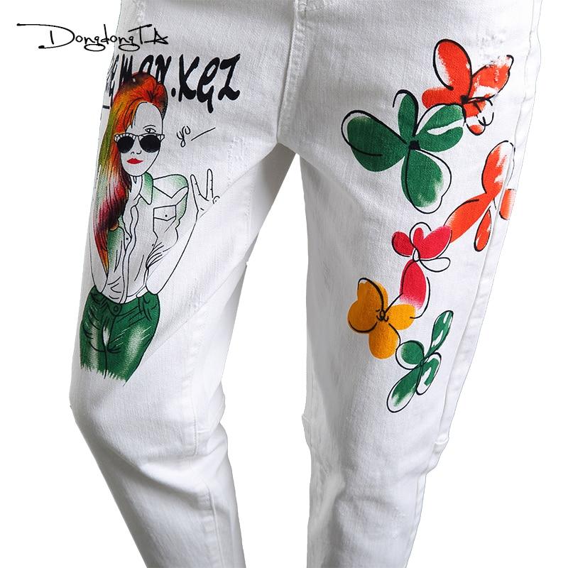 Dongdongta Cross-pants Kobiety Dziewczęta Luźne spodnie do kostki - Ubrania Damskie - Zdjęcie 6