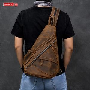 Men's Bag Big Breast Bag Male